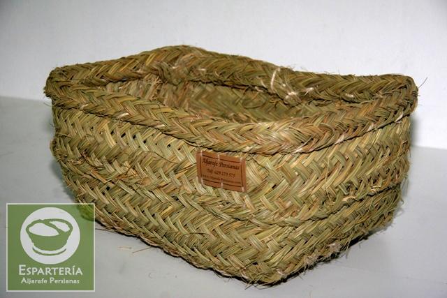 El espartero art culo cestas - Cestas de esparto ...